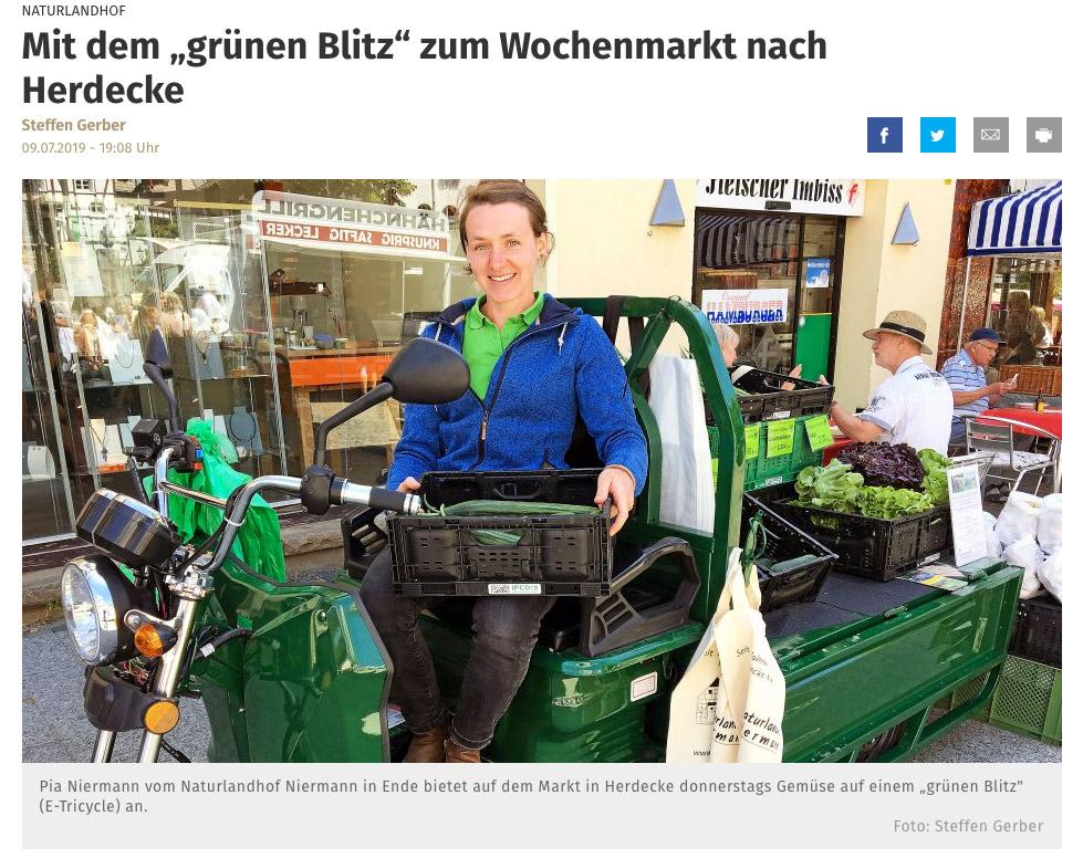 Pressebericht Westfälische Rundschau